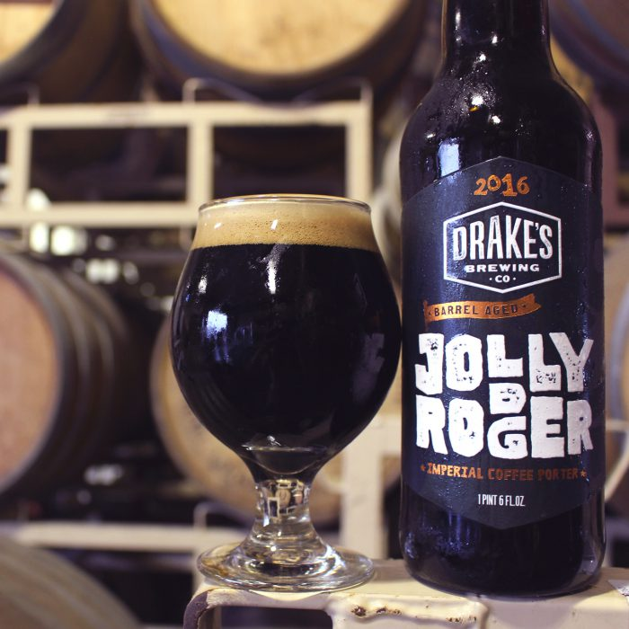 Drake's Jolly Rodger Beer Label