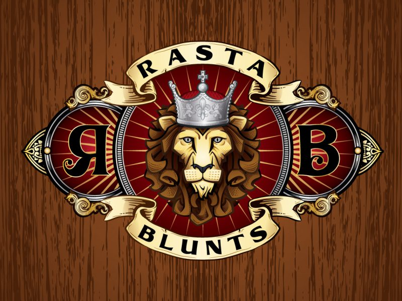 Rasta Blunts Illustration