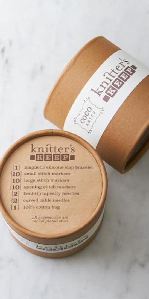 Knitter's Keep Packaging Design