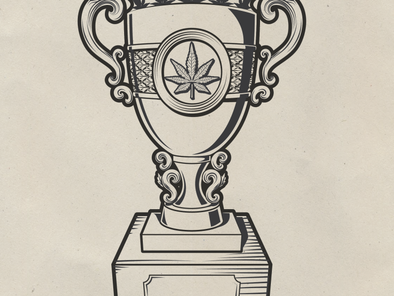 Emerald Cup's Cup Illustration